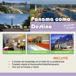 incluye - Panama Sunrise Tours