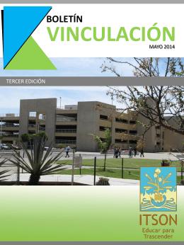 Mayo 2014 - Instituto Tecnológico de Sonora