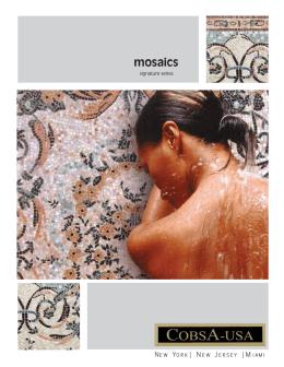 mosaics - Cobsa USA