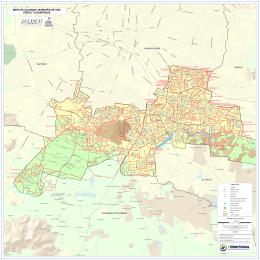 Mapa de Colonias San Pedro Tlaquepaque
