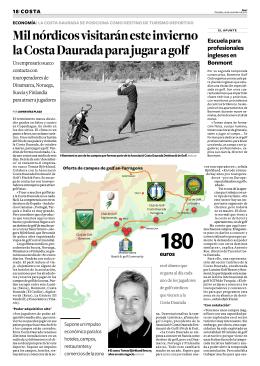 Leer más - Associació Costa Daurada Destinació de Golf i P&P