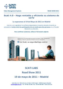 Descargar Solicitud inscripción Road Show Madrid