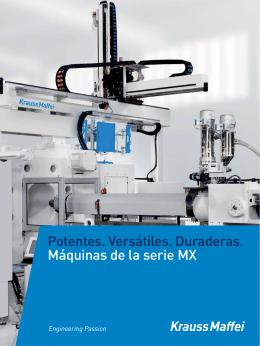 Máquinas de la serie MX