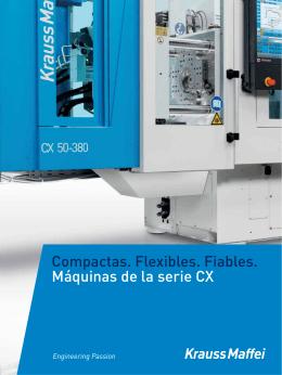 Máquinas de la serie CX