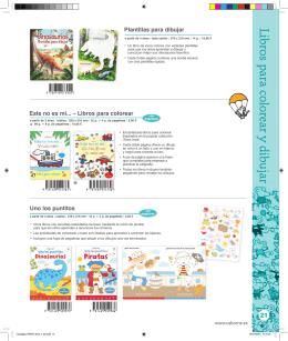 Libros para colorear y dibujar