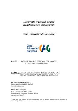 Corporación Alimentaria Guissona
