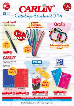Catálogo Escolar 2014