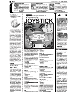 JOYSTICK - Diario de Cuyo
