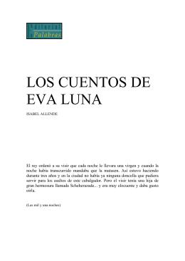 LOS CUENTOS DE EVA LUNA - ISABEL ALLENDE