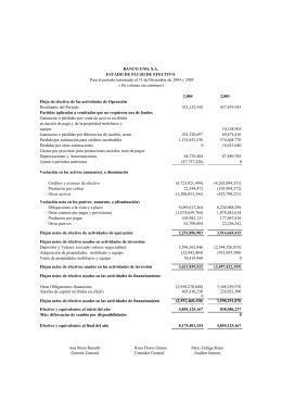 Estados Financieros Banco Uno Dic 2004
