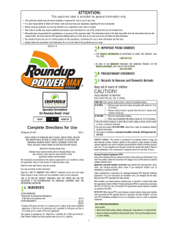Roundup Power Max Herbicide