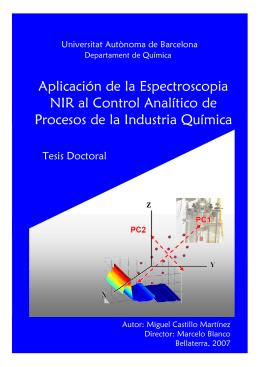 Aplicación de la Espectroscopia NIR al Control Analítico de