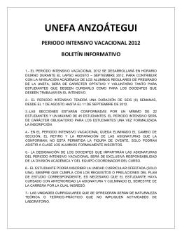 UNEFA ANZOÁTEGUI