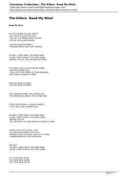 Canciones Traducidas