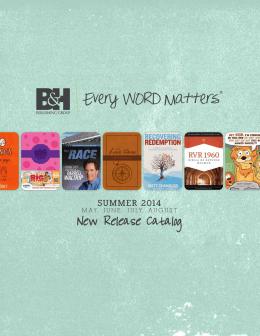 Summer 2014 - B&H Publishing Group