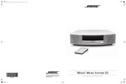 ® MUSIC SYSTEM III