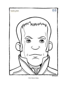 Dibujos para colorear: Personajes de la