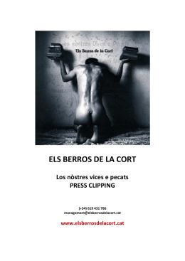 ELS BERROS DE LA CORT