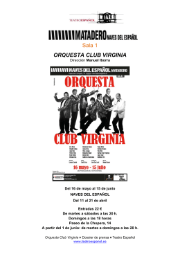 ORQ QUESTA Sala 1 A CLUB B VIRG GINIA