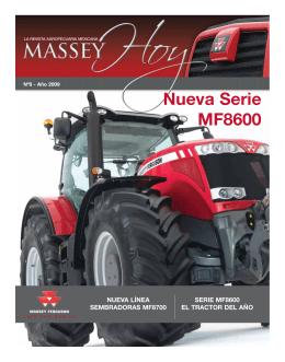 Nueva Serie MF8600