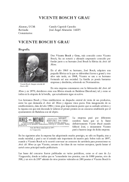 VICENTE BOSCH Y GRAU - Academia de la Publicidad
