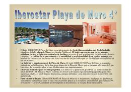 • El hotel IBEROSTAR Playa de Muro es un