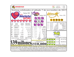06 MELATE RETRO SABADO RESULTADOS 2015-11