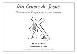 Via Crucis para niños - seglaresclaretianos.org