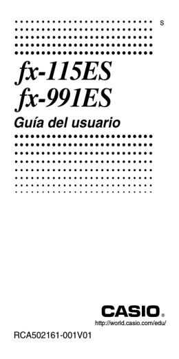 fx-115ES fx-991ES - Support