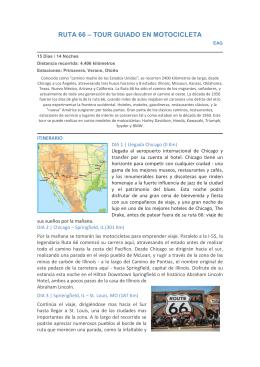 RUTA 66 - TOUR GUIADO EN MOTOCICLETA