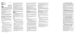 V845/V846HW/V847 Owner`s manual
