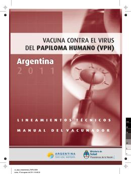 Lineamientos Técnicos VPH 2011