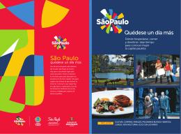 Quédese un día más - São Paulo Turismo