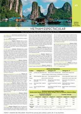 VIETNAM | VIETNAM ESPECTACULAR