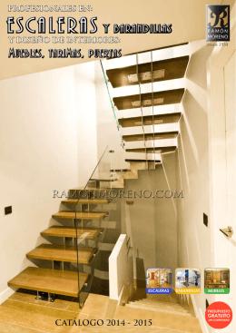 barandillas - Escaleras Ramón Moreno