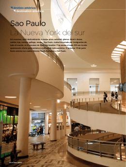 Sao Paulo La Nueva York del sur