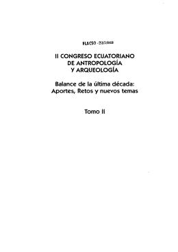 11 CONGRESO ECUATORIANO DE