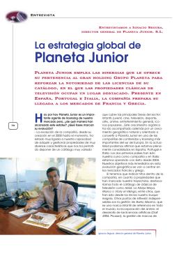 Entrev. Planeta Junior p. 70-74