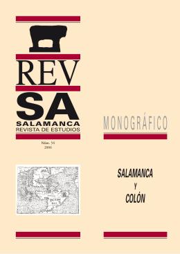SALAMANCA REVISTA DE ESTUDIOS. Salamanca y Colón