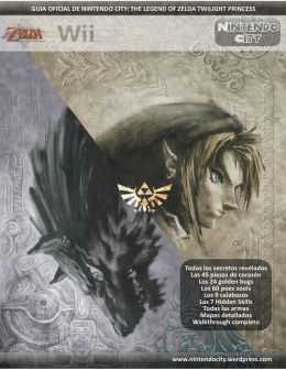 Guía Oficial de The Legend Of Zelda Twilight Princess