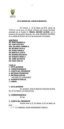 Acta 03-03-2015