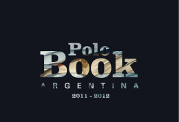 The Polo Book Argentina 2011-2012