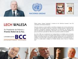 LECH WALESA - BCC Conferenciantes