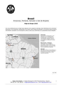 Brasil - Viajes Libre Destino