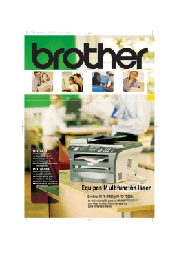 Brother MFC-7420, MFC 7820N