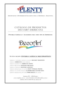 3 MBCatálogo de Pinturas Multiproposito
