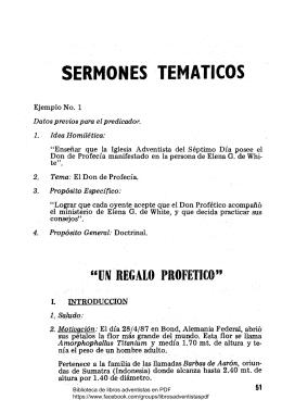 Sermones tematicos, textuales y expositivos
