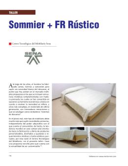 Sommier + FR Rústico - Revista El Mueble y La Madera