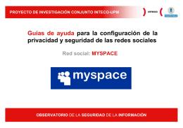 MySpace - Incibe