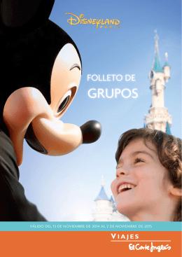 Disney Grupos PDF - Viajes el Corte Ingles